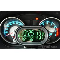 Авто часы VST VST-7009V с вольтметром