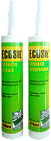 Герметик (силикон) ECOSIL  универсальный белый 300 мл HTtools
