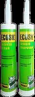 Герметик (силикон) ECOSIL  универсальный белый 50 мл HTtools