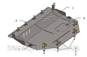 Защита двигателя Mazda 3 2013- (Мазда 3), фото 2