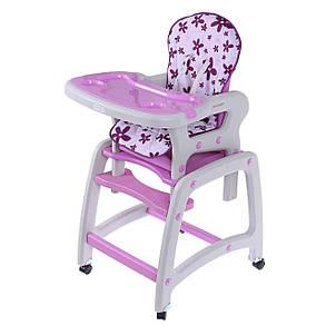 Кресло для кормления 2 в 1 ECOTOYS, фиолетовое, фото 2
