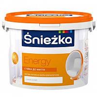 Краска водно-дисперсионная Sniezka Energy 1,4кг/1л