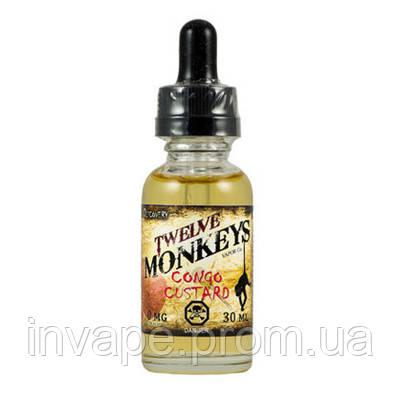 Twelve Monkeys Vapor Co. — Congo Custard (Клон премиум жидкости), фото 2