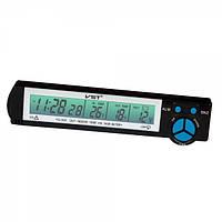 Авто часы VST 7043V с вольтметром