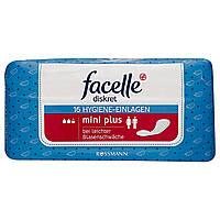 "Facelle diskret Hygiene Einlagen ""Mini Plus""- Женские гигиенические прокладки при заболеваниях мочевого пузыря"