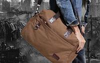Мужская кожаная сумка. Модель 61263, фото 4