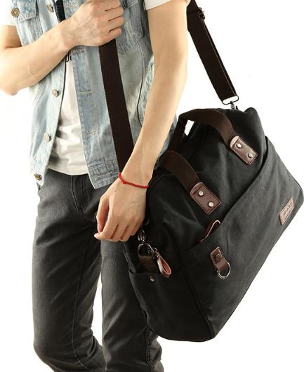 Мужская кожаная сумка. Модель 61263