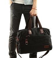 Мужская кожаная сумка. Модель 61263, фото 2