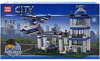 Конструктор City Полицейский участок 81005