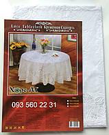 Скатерть Виниловая круглая 150 (VnK150b)