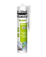 Герметик Ceresit Glas для стекла 280 мл прозрачный АКЦИЯ!!!