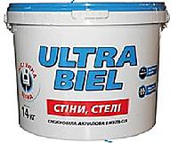 """Краска водоэмульсионная """"Sniezka"""" Ультра-Бель 14 кг"""