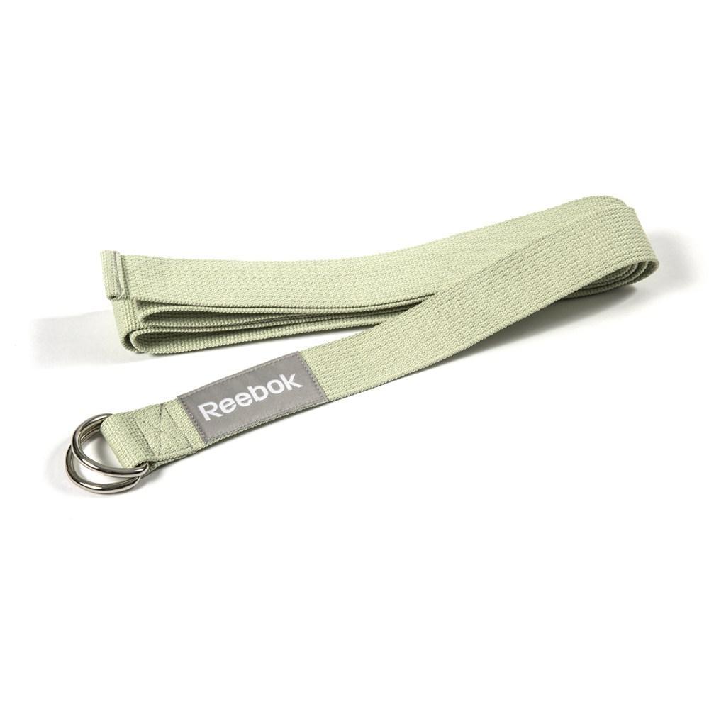Ремень для йоги Reebok Yoga Strap RAYG-10023GN зел.