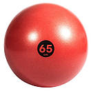 Мяч гимнастический Reebok RAB-40016RD - 65 см красный/черный (ФИТНЕС), фото 2