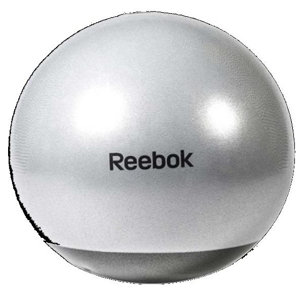 Мяч гимнастический Reebok RAB-40017GR - 75 см серый/черный (ФИТНЕС)