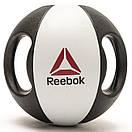 Медбол Reebok Double Grip Med Ball RSB-16126 - 6 кг, фото 2