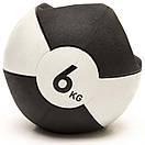 Медбол Reebok Double Grip Med Ball RSB-16126 - 6 кг, фото 3