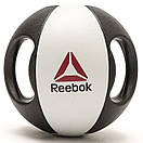 Медбол Reebok Double Grip Med Ball RSB-16129 - 9 кг, фото 5