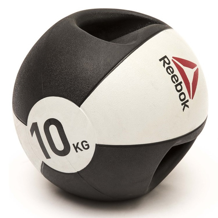 Медбол Reebok Double Grip Med Ball RSB-16130 - 10 кг