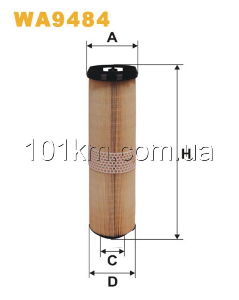 Фильтр воздушный WIX WA9484 (AK218/2)