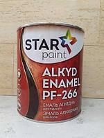Эмаль Алкидная ПФ - 266 Супер Стар, 2,8 кг половая для внутренних  работ, фото 1