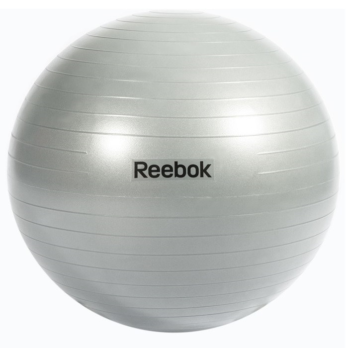 Гимнастический мяч Reebok RAB-11017GR 75 см серый (ФИТНЕС)