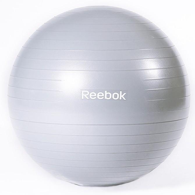 Мяч гимнастический Reebok RAB-11015BL - 55 см серый
