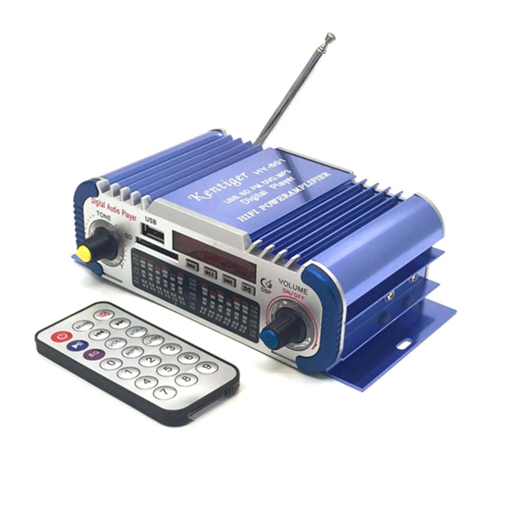 HiFi мини стерео 2-х канальный усилитель HY-601, USB, MP3, FM