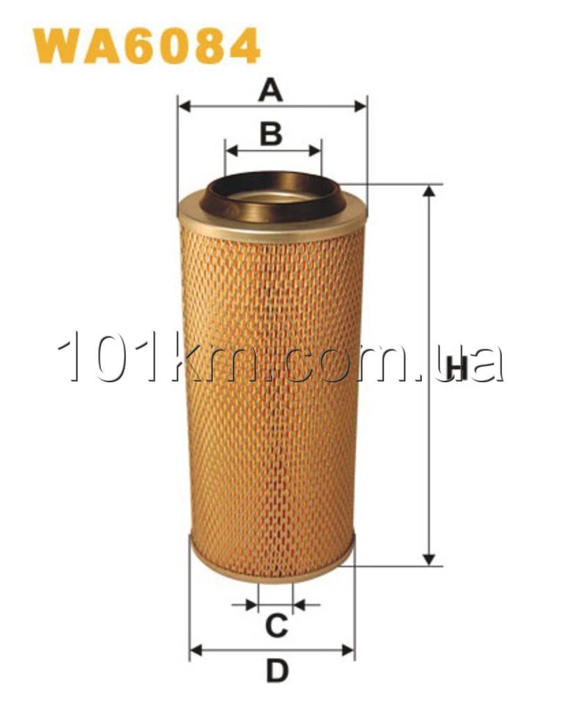 Фильтр воздушный WIX WA6084 (AM413)