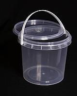 Ведро пластиковое 1 литр 1000 мл