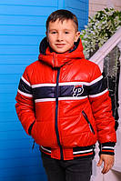 Детская куртка на мальчика Шумахер-2