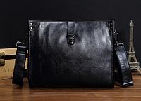 Мужская кожаная сумка. Модель 61266, фото 4