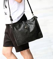 Мужская кожаная сумка. Модель 61266, фото 3