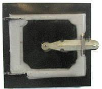 Дверка кухонная  верхняя (черная, розд.)