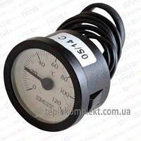 Термометр (круглый) ф 37мм., 0-120С. 060107 Imit