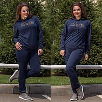 Женский спортивный костюм батал Paris 37- 239, фото 1