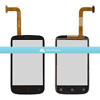 Тачскрин (сенсор) HTC A320 Desire C   черный