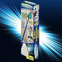 Универсальная щетка-швабра 3 в 1 для уборки Clean Reach