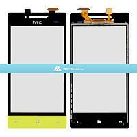 Тачскрин (сенсор) HTC A620e Windows Phone 8S | Оригинал | зеленый