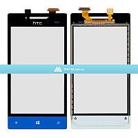Тачскрин (сенсор) HTC A620e Windows Phone 8S | синий