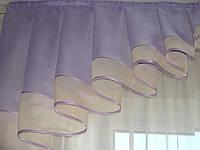 Ламбрикен Дуга   2м Вуаль голубой, фото 1