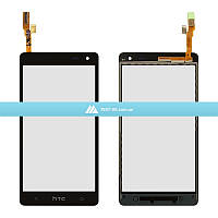 Тачскрин (сенсор) HTC Desire 600 Dual Sim | Desire 606w | черный