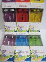 Вакуумные наушники для телефона и плеера Energy Stereo 8804