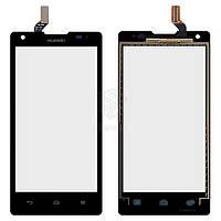 Тачскрин (сенсор) Huawei Ascend G700-U10 | Оригинал | черный