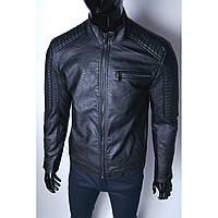 Мужская кожаная куртка (качественная искуственная кожа)