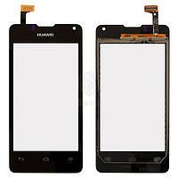 Тачскрин (сенсор) Huawei Ascend Y300D   Оригинал   U8833 Ascend Y300   Оригинал   черный