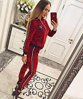 Бархатный спортивный костюм женский доставка