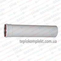 Удлинитель для коаксиального дымохода CE 05 0,5 м.