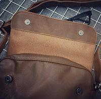 Мужская кожаная сумка. Модель 61268, фото 8