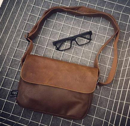 Мужская кожаная сумка. Модель 61268
